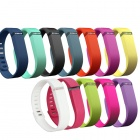 Large Wrist Band w/ Clasp for Fitbit Flex Smart Bracelet - Sky Blue