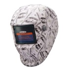 NEJE SD0001-2 Solar Auto Darkening UV / IR Protection Welding Helmet Goggles - White + Black