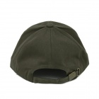 Fashionable Casual Cotton Cap Hat - Army Green