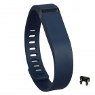 Large Wrist Band w/ Clasp for Fitbit Flex Smart Bracelet - Deep Blue