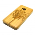 Big Tree Pattern Detachable Protective Bamboo Back Case for HTC ONE M7