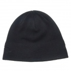 Fashionable Autumn & Winter Warm Cashmere Hat w/ Bluetooth Function - Black