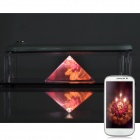 NEJE DIY GX0003D Pyramid 3D Holographic MV Projector Case -Transparent