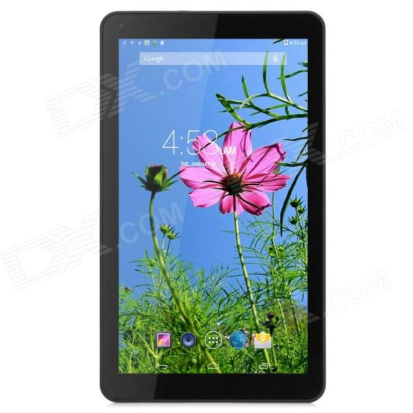 10.1 MTK8127 Capacitive Touch Screen Android 4.4 Tablet PC w/ 1GB RAM, 8GB ROM, Wi-Fi, BT - Black new 7 inch tablet pc mglctp 701271 authentic touch screen handwriting screen multi point capacitive screen external screen