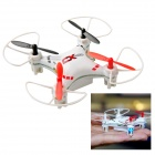 CX CX-023 360 Degree Eversion Mini 4-CH 2.4GHz Radio Control R/C Quadcopter w/ Gyro - White
