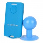Wireless Bluetooth V3.0 Selfie Remote Control for iOS / Android Cellphone - Light Blue (1 x CR2032)