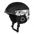 AIDY 618 Lightweight Comfortable PC + EPS Skiing Helmet - Black