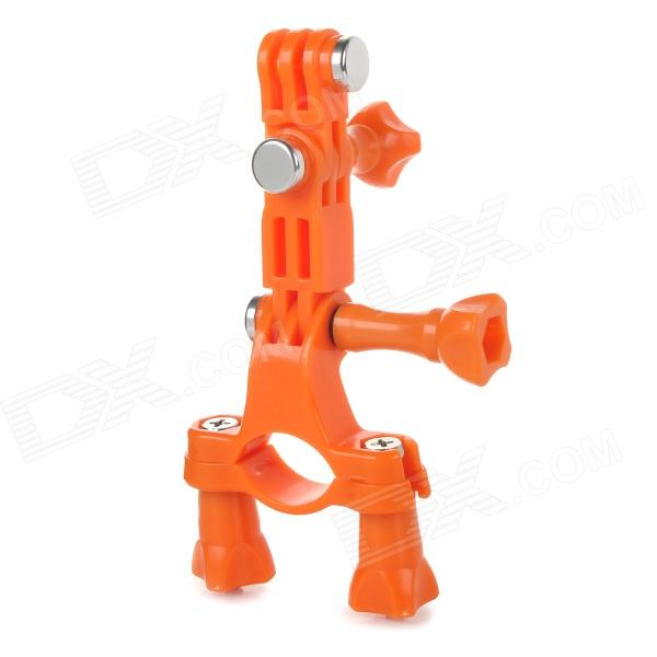 GP02B Sport Camera Bike Mount Holder for GoPro - Orange bicycle bike plastic mount holder for digital camera mini dv orange black