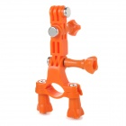 GP02B Sport Camera Bike Mount Holder for GoPro - Orange
