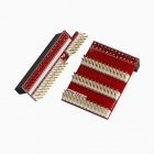 Tengying TYGPIO 40Pin Adapter Board + 3-26Pin Expansion Board for Raspberry Pi B+ - Red