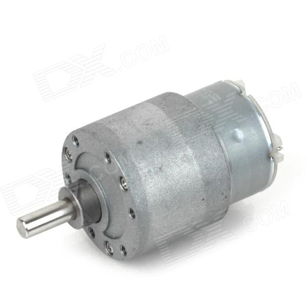 ZnDiy-BRY 12V DC 15RPM High Torque Gear Box Electric Motor zndiy bry dc 12v 600rpm dc 6v 300rpm high torque gear motor silver