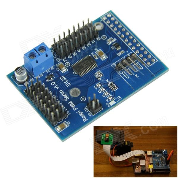 16-way Servo Control Expansion Board for Raspberry Pi B/B+ / Arduino - Blue geomorphic control on urban expansion