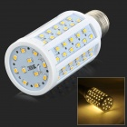 JRLED E27 12W 99-2835 SMD LED 1000LM 3200K Warm White Light Bulb - White (AC 220~240V)