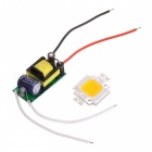 JRLED JRLED-10W-WW 10W 900lm 3200K 1-LED Warm White Light Emitter Board - White + Yellow (86~265V)