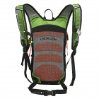 LOCAL LION Outdoor Cycling Ultra Light Breathable Double Shoulder Backpack Bag - Green