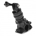 Bicycle Base Mount Holder w/ Screw for GoPro Hero 3+ / Hero 2 / Hero 3 / SJ4000 - Black