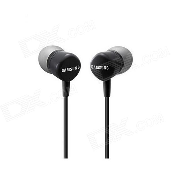 Genuine Samsung In-Ear Style Headphone w/ Microphone for Galaxy S4 i9500 / i9505 - Black гарнитура проводная samsung eo eg920l in ear fit red