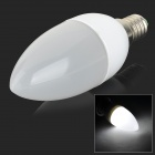 YouOKLight E14 3W 120lm 10-SMD 2835 LED Cold White Bulb (AC 220V)
