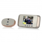 "ML-800 3.5"" LCD Screen Smart Wireless Visual Digital Peephole Door Viewer w/ Doorbell (3 x AA)"