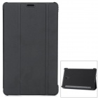 "Protective PU + PC  Auto Sleep Case w/ Stand for Samsung Galaxy Tab S 8.4"" T700 - Black"