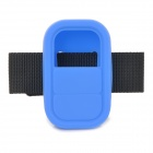 Universal Silicone Case w/ Strap for GoPro Heo3+ Hero3 Wi-Fi Remote Controller - Blue + Black