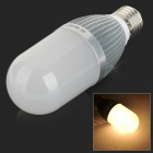 AF-C011 E27 11W 750lm 3000K 54-SMD 2835 LED Warm White Corn Lamp - Silver + White (100~250V)