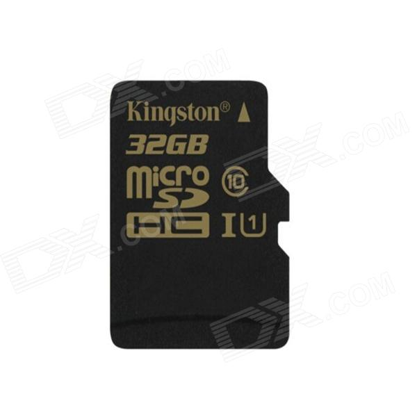 Kingston SDCA10 UHS-I Digital Micro SDXC Memory Card - Black