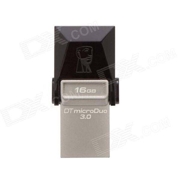 Трансфер Kingston DTDUO3 Digital Data Micro USB / USB 3.0 OTG Flash Drive - черный (16 Гб)
