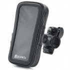 Bike Mount Bracket + Protective Water Resistant Bag Case Set for Motorola MOTO G - Black
