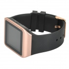 "Wi-montre M5 1,54 ""écran synchrone Composez Bluetooth V3.0 montre Smart Watch - Noir + or rose"