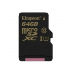 Tarjeta de Memoria Digital Micro SDXC Kingston SDCA10 UHS-I - Negro (Clase 10/64 GB)