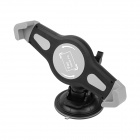 OUMILY 360 Degree Rotating Stand w/ Suction Cup for Tablet PC - Black