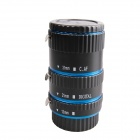 DEBO C-L Macro Extension Tube Set for Canon - Black + Blue