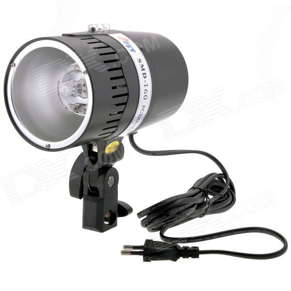 FUSHI Tong SMD-160 160W 1000lm Portable IR Control Photography Studio Strobe Flash Light - Black