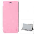 PUDINI WB-YMS Stilvolle Flip Open PU + PC Case w / Stand für Amazon Feuer Phone - Pink