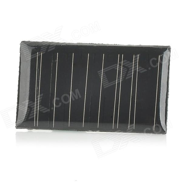 WB-02 0.1W DIY Solar Monocrystalline Epoxy Battery Lighting Board - Black