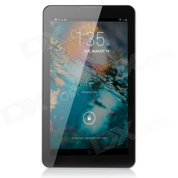Vido T3 7 Dual-Core Android 4.2 IPS Tablet PC w/ 512MB RAM, 4GB ROM, Bluetooth, GPS - White jiake f1w 5 0inch capacitive touch screen mtk6572 dual core 1 2ghz smartphone 512mb 4gb 2 0mp 0 3mp android 4 2 os 3g gps with protective case black
