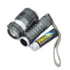 Sofirn MS1 750lm 4-Mode White Memory Flashlight w/ Cree XM-L2 T + Battery Charger - Grey (1 x 18650)