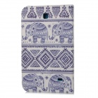 "Stylish Cartoon Pattern Flip-open PU Case w/ Holder for 7"" Samsung Galaxy Tab 4 / T230 / T231 / T235"