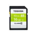 Toshiba SD-K016GR7AR30 16GB Class 10 UHS-1 30mbps SDHC Memory Card
