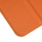 ENKAY 3-Folds Protective Ultra-thin PU Leather Case for Samsung Galaxy Tab S 8.4 T700 - Orange