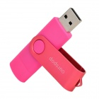 2.0 / Micro USB Ourspop SJ20 Rotary USB Flash Drive - Rosa Profunda (8GB)