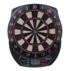 "WMG08580 Professional 18"" Soft Tip Electronic Voice Dartboard with 6-Dart - Black + Multicolor"