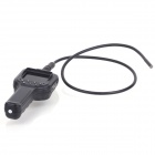 "ZnDiy-BRY MDE-028 2.8"" LCD 0.3MP 8.5mm 6-LED Mini Endoscope - Black (1 x 18650)"