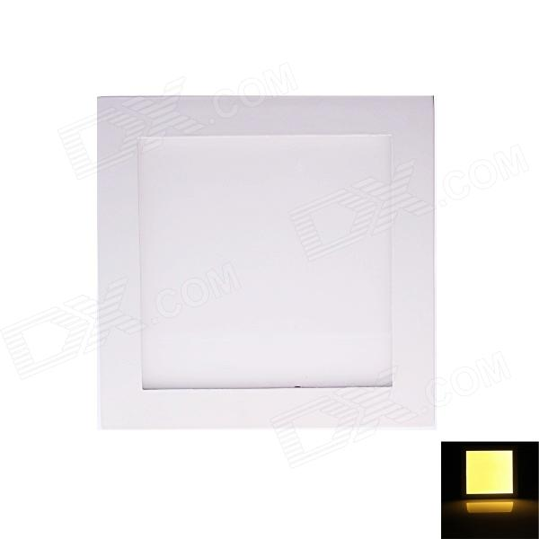 18W 1750LM 3000K 2835 SMD LED Warm White Light Square Ceiling Light Lamp - White (AC 85~265V) kinfire square shaped 15w 1320lm 75 smd 3528 led white light ceiling lamp w driver ac 85 265v