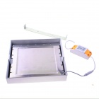 18W 1750LM 3000K 2835 SMD LED Warm White Light Square Ceiling Light Lamp - White (AC 85~265V)