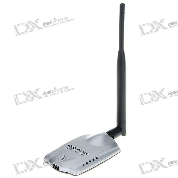 802.11g/b 54Mbps USB Wireless Adapter with Detachable Antenna