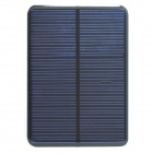 WN-09 5V 200mA Solar Power Panel - Black + Light Blue (112 x 82mm)
