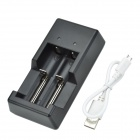 TOMO V6-2 1.2V+3.7V Intelligent Battery Charger for AA/ AAA/ 18650/ 18500/ 17650/ 16340/ 14500/10500
