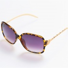 BD4012 Women's Retro Style UV400 Protection PC + High Nickel Alloy Frame PC Lens Sunglasses